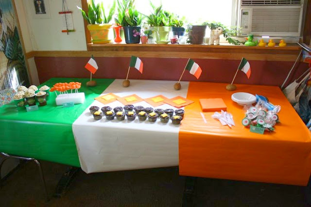 Irish Welcome Home Party
