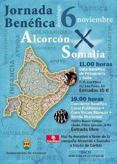 Concierto benéfico Alcorcón por Somalia 2011
