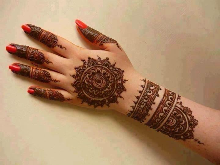 Mehndi Party Hd : Beautiful latest simple arabic pakistani indian bridal girl mehndi designs popular full
