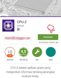 Cara mengetahui info spesifikasi hp android dan tablet