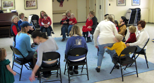 photo of: Early Childhood Rhythm Games with Lap Bounce Rhymes (via Miss Carole)