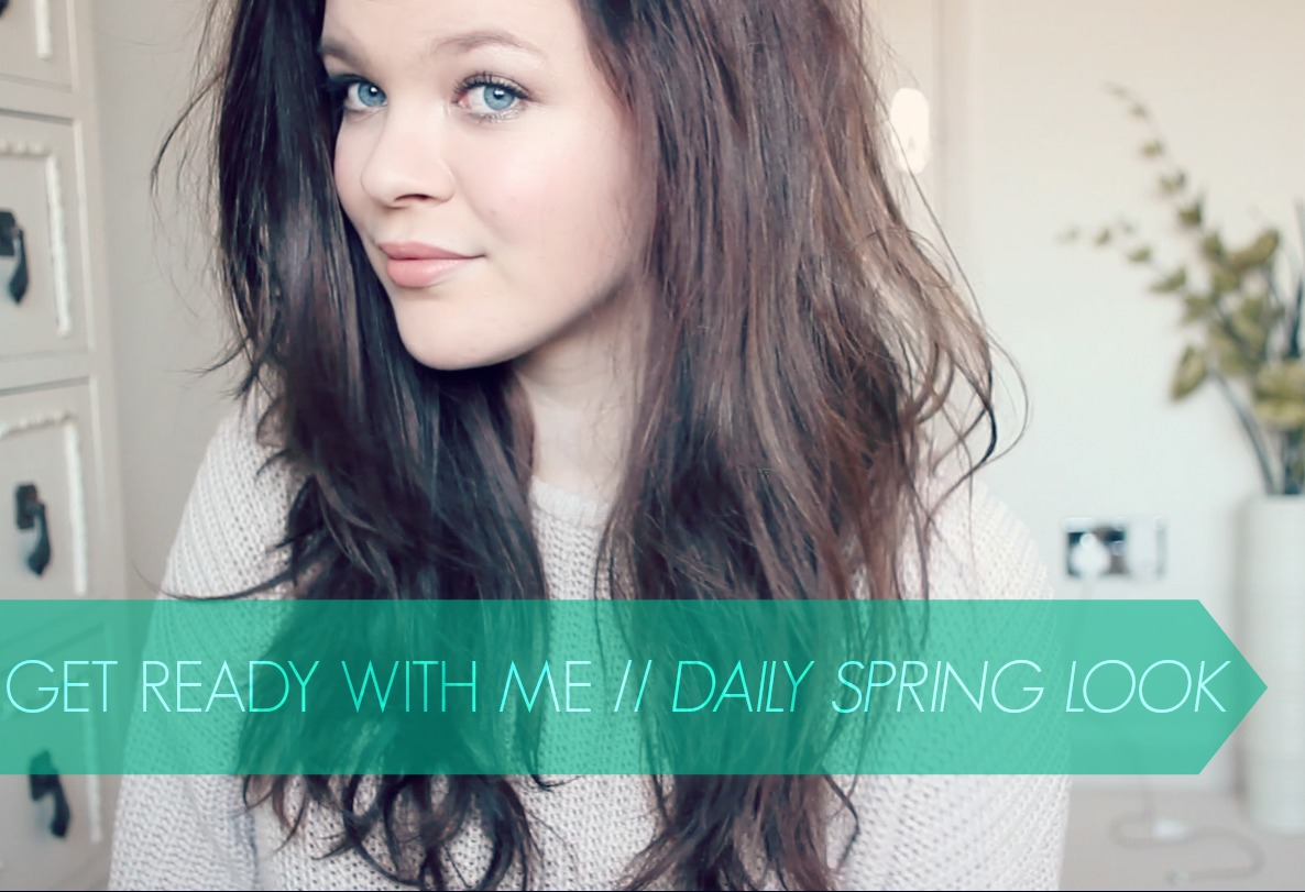 daily spring make up tutorial