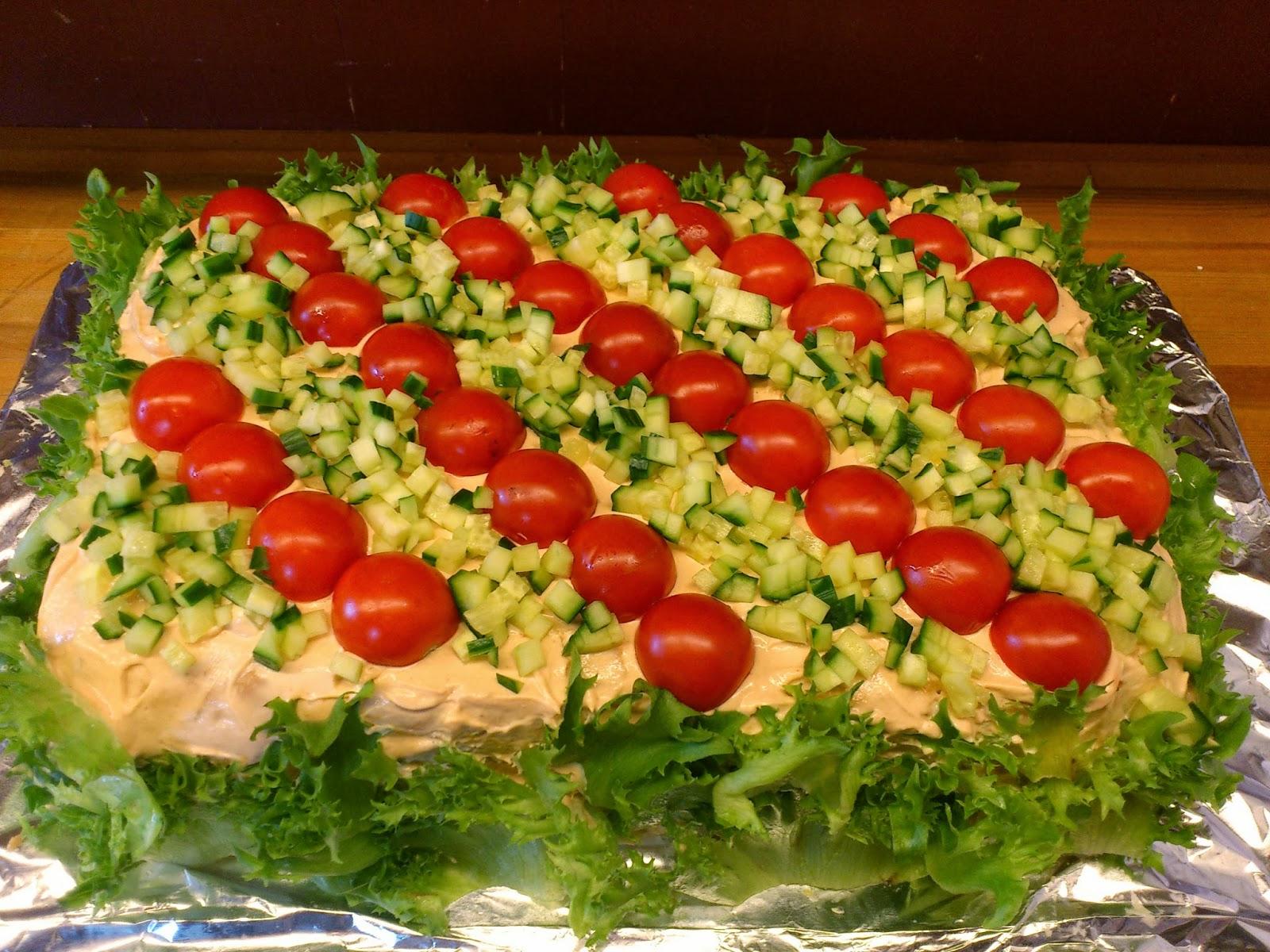 s hvordan lage en sunn og god salat.
