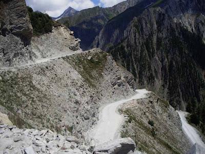 Passagem Zoji La  - India