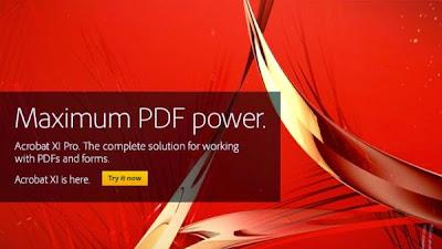 Adobe Acrobat XI Pro cover