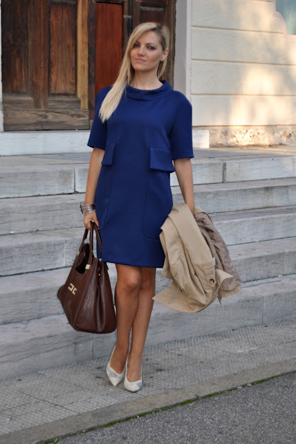 outfit autunnali outfit ottobre 2015 outfit autunnali eleganti come vestirsi in autunno mariafelicia magno fashion blogger colorblock by felym fashion blog italiani blog di moda blogger italiane di moda ragazze bionde blondie blonde hair blonde girls outfit donna abito bionde con gonna