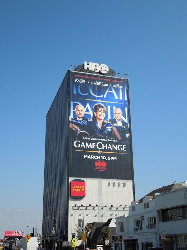 Giant Game Change billboard