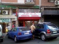Supermercado chino en General Margallo (Madrid)