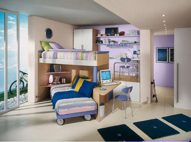 Desain Kamar Tidur Bagi Anak yang Menarik | Bikin Betah