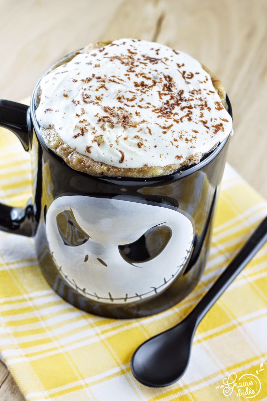 Mug Cake Marbré au Nutella - Une Graine d'Idée
