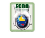 . el soporte que la intitucion SENA nos brinda, el croquis de colombia con . (senaaa)