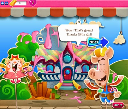 Candy Crush Saga 546-560 ending