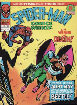 Spider-Man Comics Weekly #126, the Beetle
