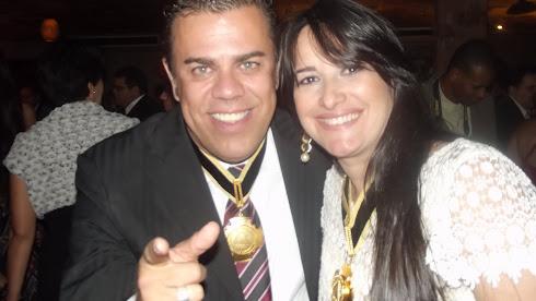 Homenageados - Marcos Maracanã e Marta Lança