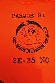 Próximo evento: Reunión de la Plataforma de Apoyo al Parque Tamarguillo.