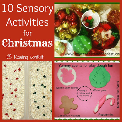 10 Sensory Activities for Christmas from Reading Confetti