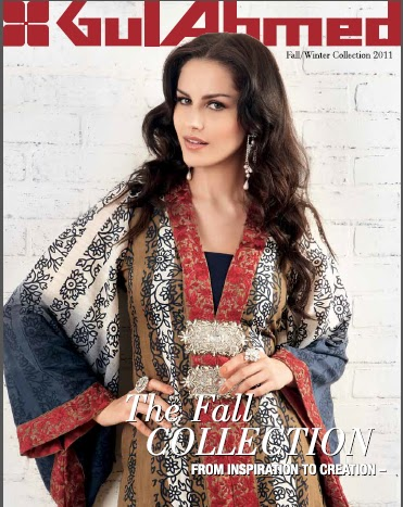 2011-12 by Gul Ahmed With Amna Haq | Gul Ahmed Winter Collection 2012