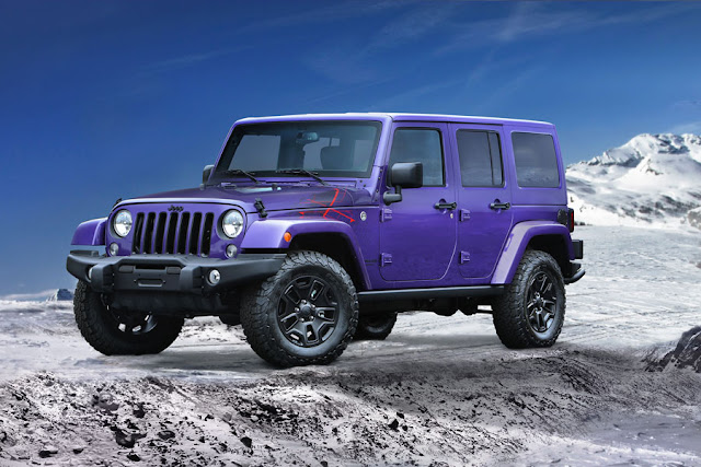 New Jeep Wrangler Backcountry
