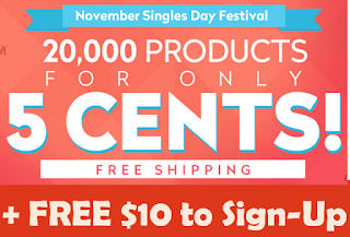 FREE Sign up bonus, JD.com, China products, flash sale, sale, november, discount
