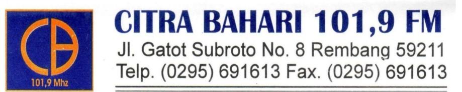 Radio Citra Bahari FM Rembang