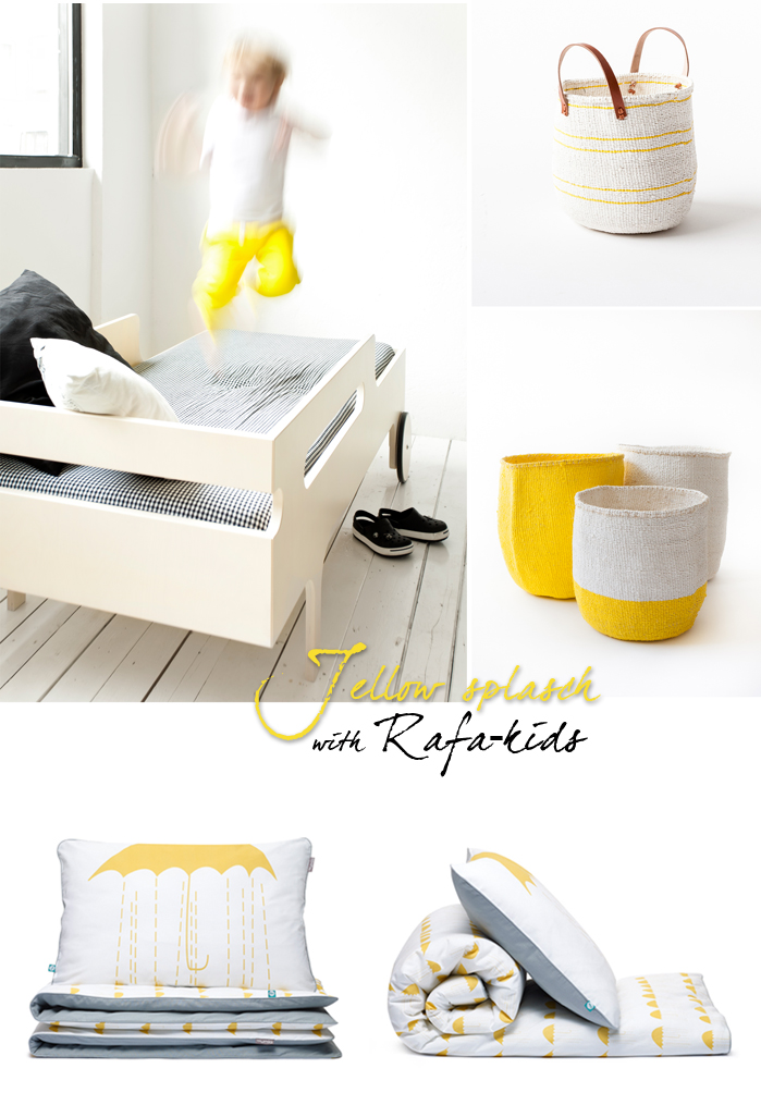 rafa-kids accessories in yellow colour for kids room