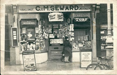 A Corner Shop in Fawcett Road
