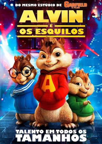 Alvin e os Esquilos Torrent - BluRay 720p Dublado