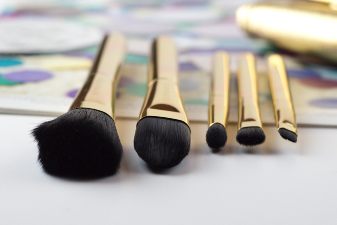 sephora gold star skinny brush set review