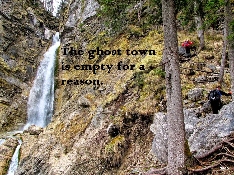 The Ghost Town is Empty for a Reason- Motivational Quotes