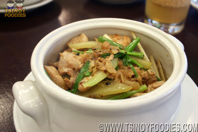 steamed ginger chicken