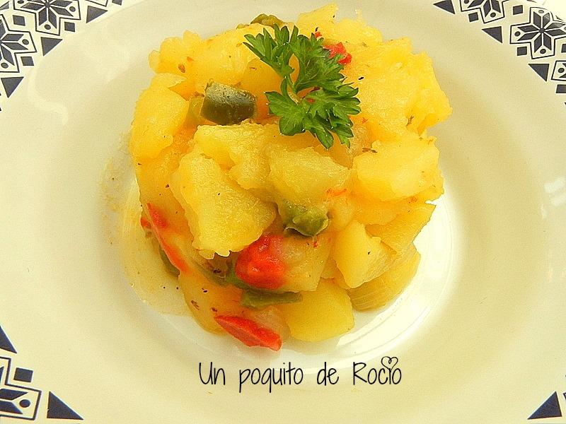 Patatas a lo pobre fussion cook t a recetas de cocina for Cocinar patatas a lo pobre