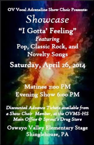4-26 I Gotta' Feeling OV Show Choir