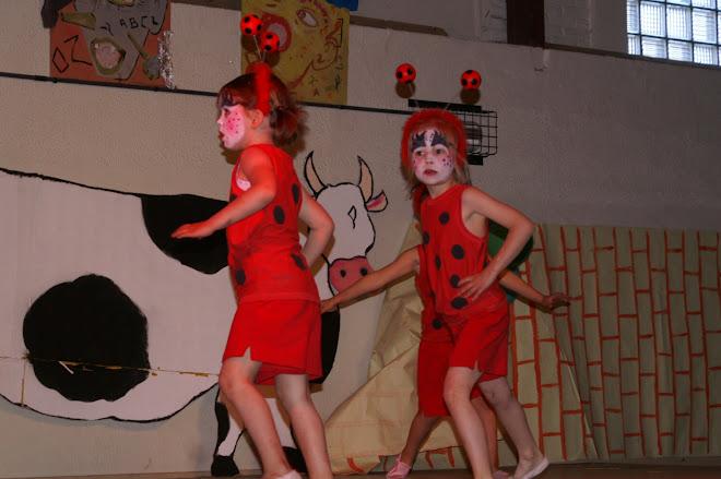 les coccinelles (danse créative 4/5 ans)