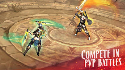 Eternity Warriors 4 v0.3.1 MOD APK-Screenshot