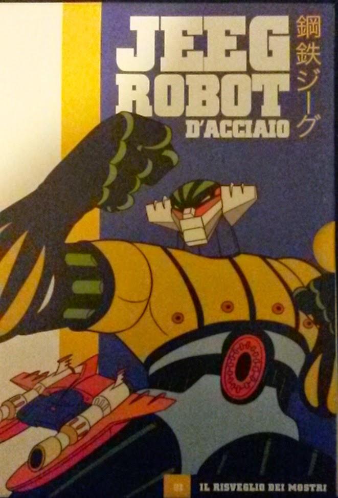 JEEG ROBOT D'ACCIAIO, RECENSIONE DEL PRIMO DVD DELLA RACCOLTA DA EDICOLA