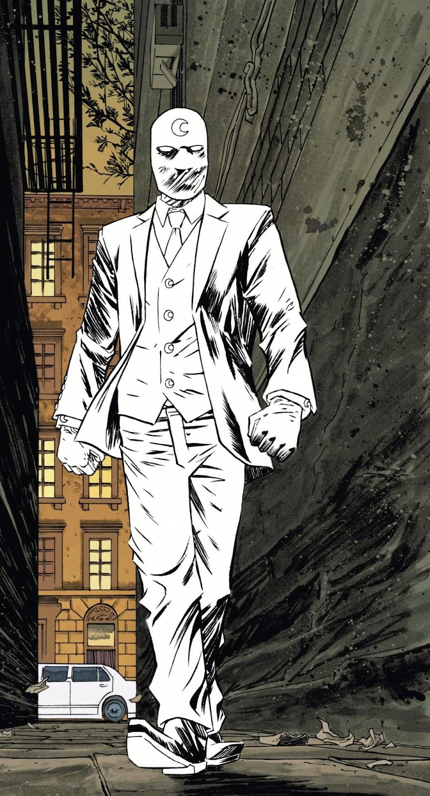 Caballero Luna - Mr. Knight - Warren Ellis - Declan Shalvey