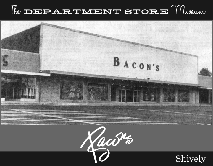 The Department Store Museum J Bacon Amp Sons Louisville
