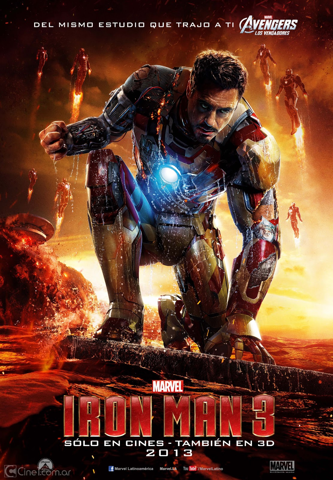 jedi mouseketeer collection of marvel 39 s iron man 3 movie poster art. Black Bedroom Furniture Sets. Home Design Ideas