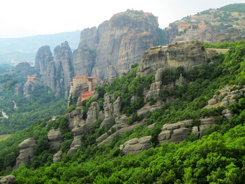 Viajaresvida - Vista de los Monasterios desde Mirador