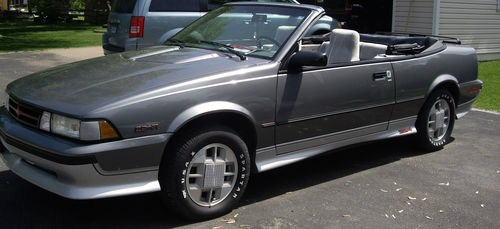 CLASSIC CARS OF THE 1980s 1989 CHEVROLET CAVALIER Z24 CONVERTIBLE