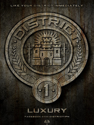 The Hunger Games District 1 Luxery Poster
