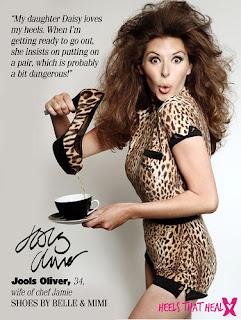 Jools Oliver, Leopard Print Shoes