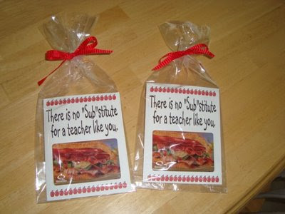 Teacher Appreciation Gift Ideas : Let's Celebrate!