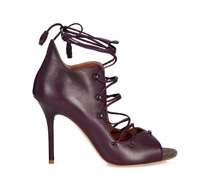 Malone Souliers lace-up high heels