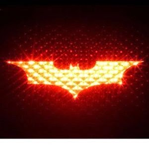 Batman 3rd Brakelight Decal Auto Car Sticker