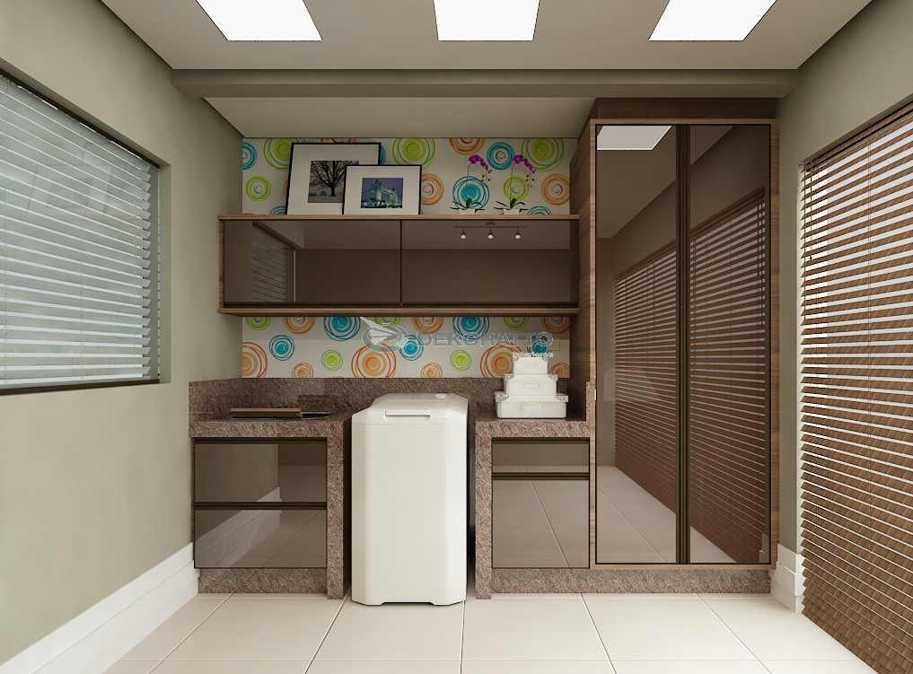 Construindo Minha Casa Clean: Lavanderias Lindas! Modernas ...