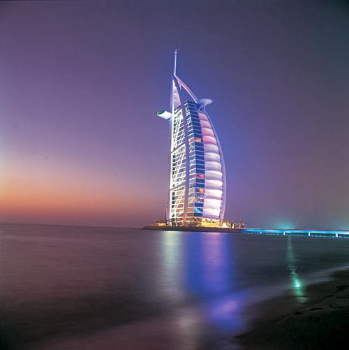 World visits dubai hotel 7 star burj al arab for Dubai world famous hotel