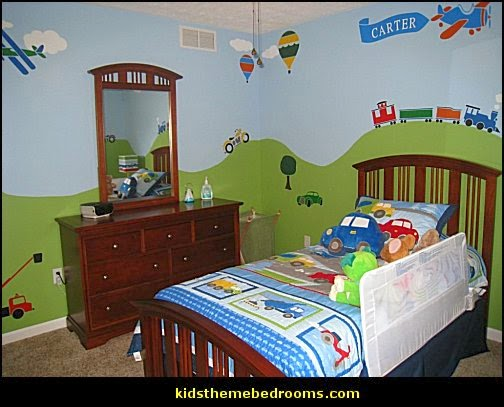 ... Themed Bedroom Decorating Ideas and Transportation Themed Decor
