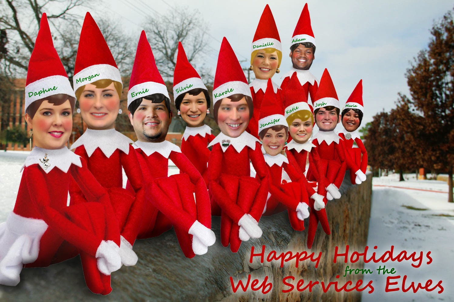 Happy Holidays from Web Services!