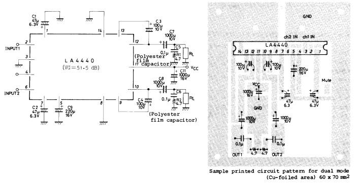 bobo elektronik  amplifier la4440
